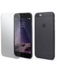 iPhone Rundumschutz Schwarz Case