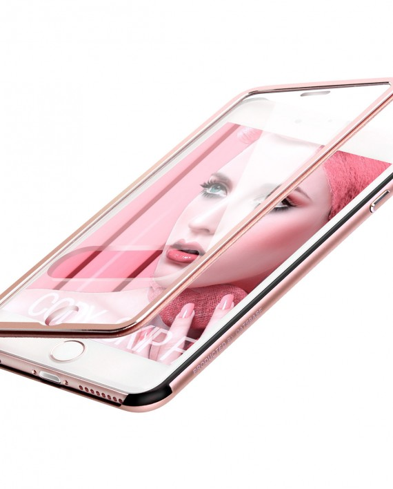 Apple IPhone 6 6s Plus Aluminium Hulle Tourer Rose Gold