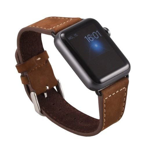 Apple Watch Echt Leder Titel Vorn