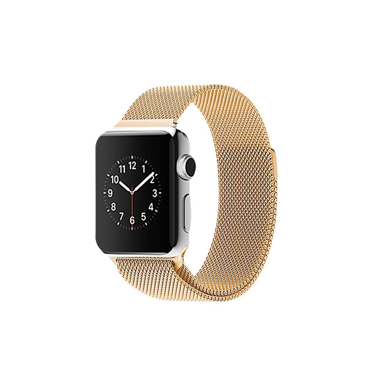 apple watch milanaise edelstahl armband magnet verschluss. Black Bedroom Furniture Sets. Home Design Ideas