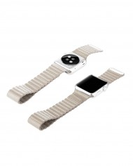 Apple Watch Sport-Edition Beige oben