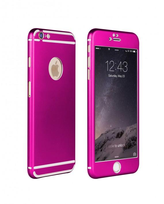 Vapiao Alu Rundumschutz Pink Case Fur Iphone 6 6s 6 Plus 6s Plus