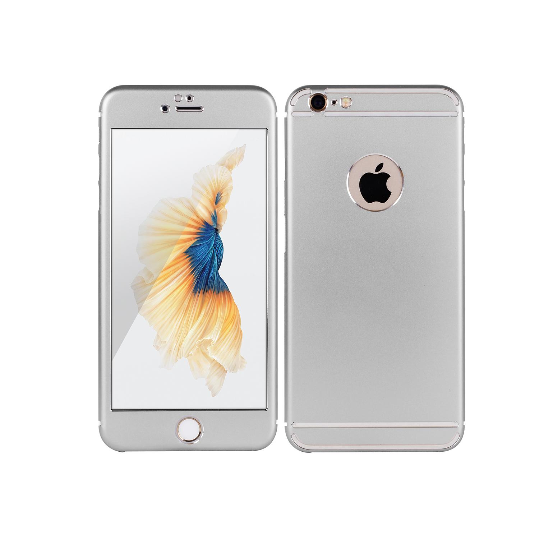 Vapiao Fullcover Alu Case Rundumschutz Silber Fur Iphone