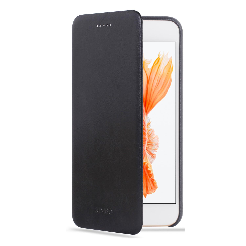 apple iphone 6 6s 6 plus 6s plus echtleder h lle flip cover vapiao. Black Bedroom Furniture Sets. Home Design Ideas