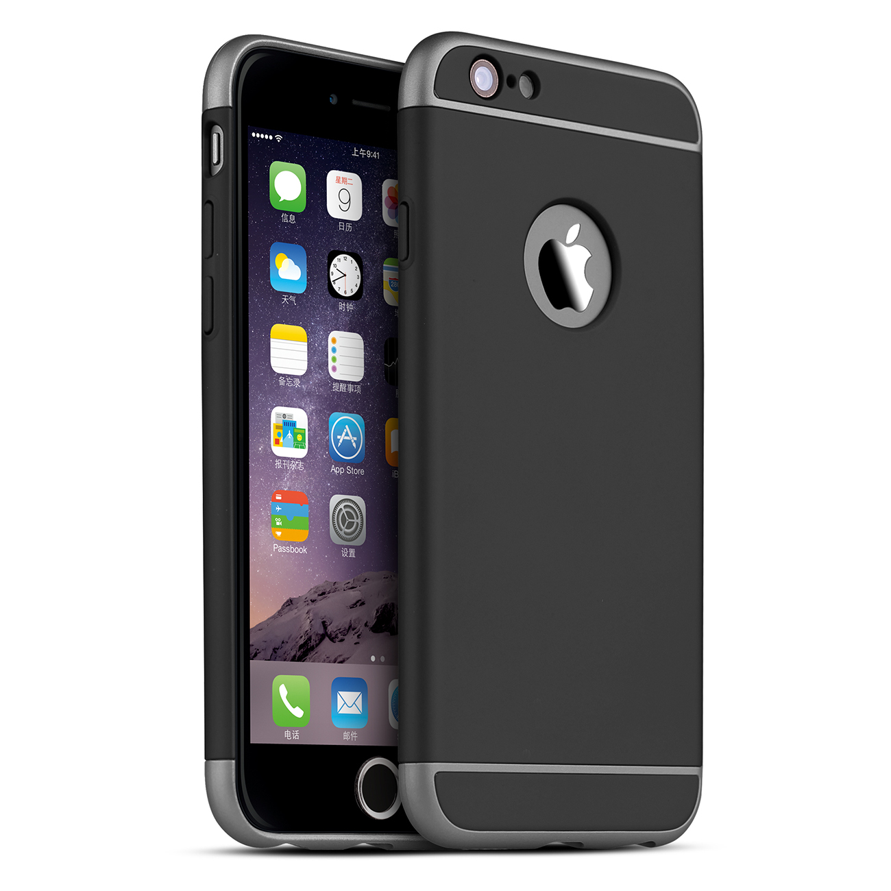 apple iphone 6 plus case gummierte schwarz schutzh 252 lle vapiao f 252 r apple iphone 1412