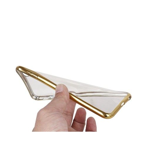 TPU Crystal Case Gold Seite