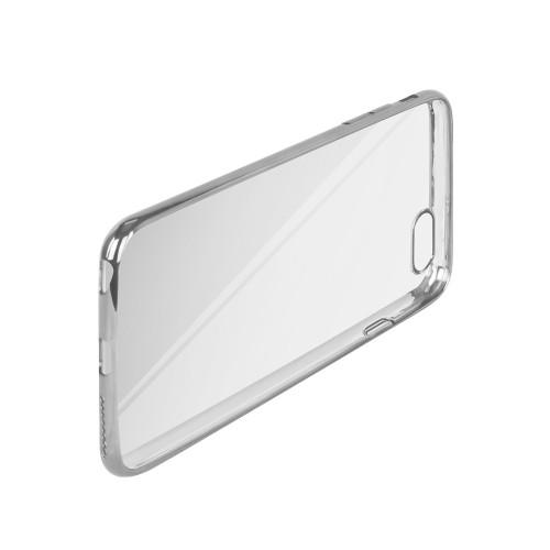 TPU Crystal Case Silber liegend