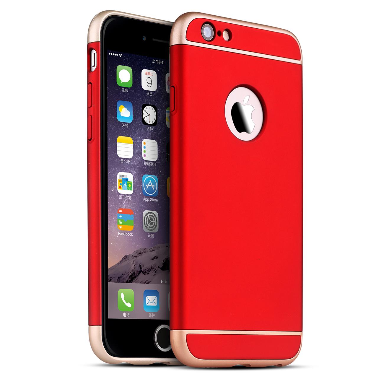 gummierte rot schutzh lle von vapiao f r apple iphone. Black Bedroom Furniture Sets. Home Design Ideas