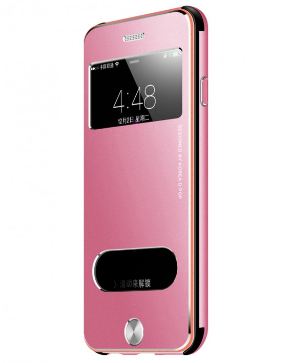 vapiao aluminium sanders pink h lle f r apple iphone. Black Bedroom Furniture Sets. Home Design Ideas