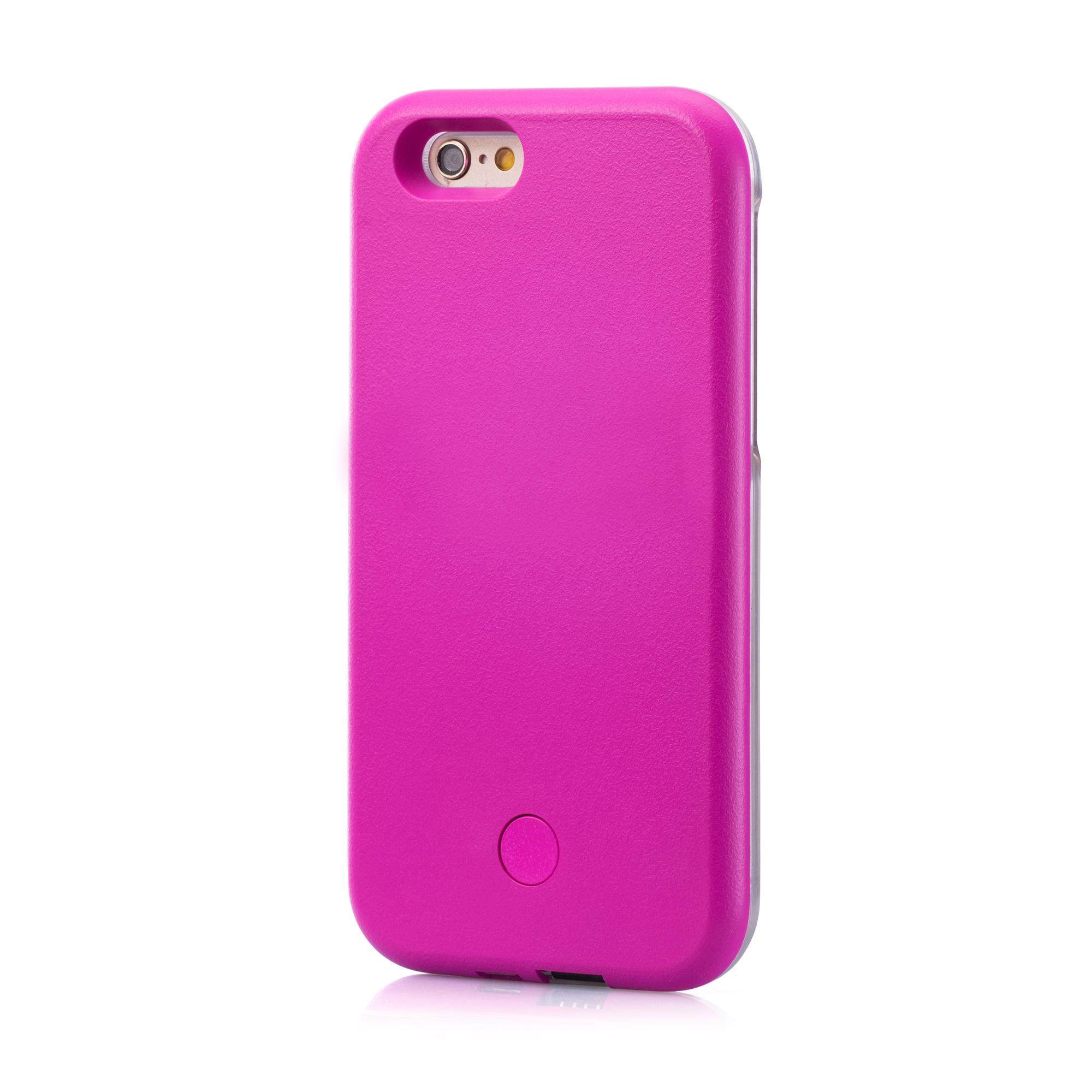 Vapiao Selfie Case Pink Apple Iphone 5 5s Se 6 6s Plus Led In 3 1