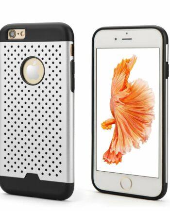 iPhone Dot Case Silber
