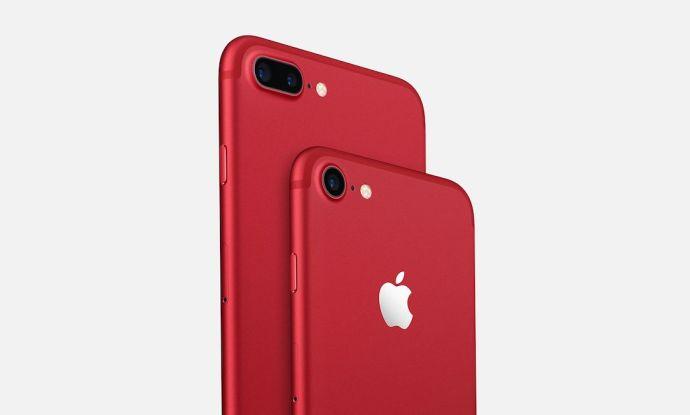 Das neue rote iPhone