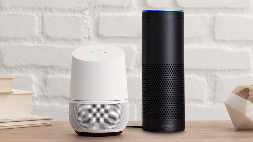 Google Home oder Alexa?       Die Sprachassistenten im Verlgiech